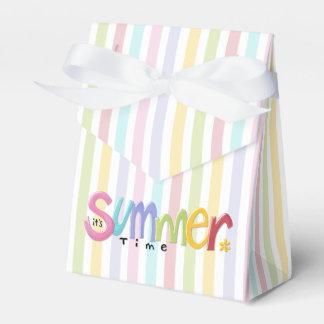 Summertime Tent Favor Box