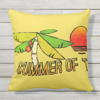 SummerTime Vibes - Perfect Beach Sunset Cushion