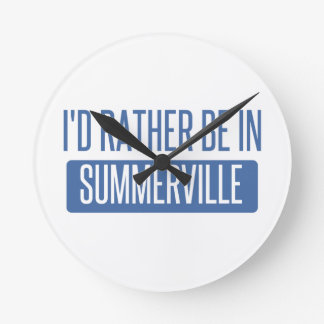 Summerville Round Clock