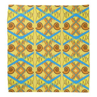 Summery Geometric Bandana