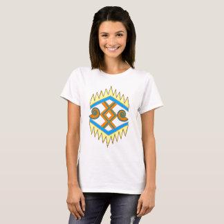 Summery Geometric Southwestern-Style T-Shirt