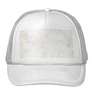 Summery White Fairy Dust Trucker Hat