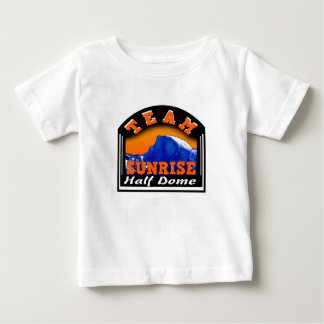 Summit Actionwear Team Sunrise Half Dome Baby T-Shirt