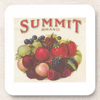 Summit Brand Fruits Coasters