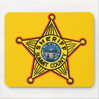 Summit County  Ohio Sheriff Mousepad. Mouse Pad