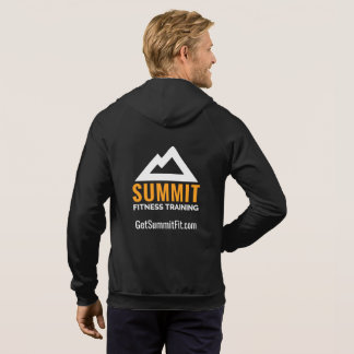 Summit Fitness Training Men's Full Zip Hoodie