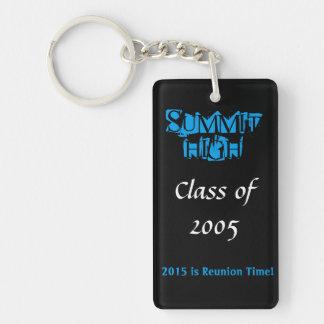 Summit High Reunion Keychain