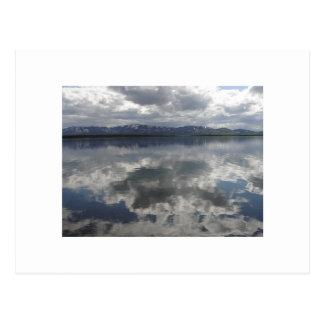 Summit Lake, Alaska Postcard