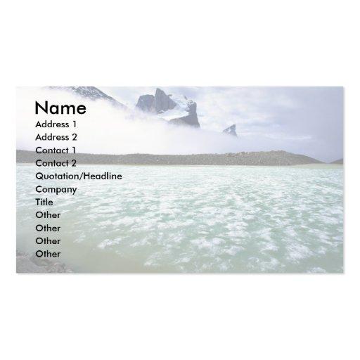 Summit Lake and Breidablik Peak, Baffin Island, Ca Business Cards