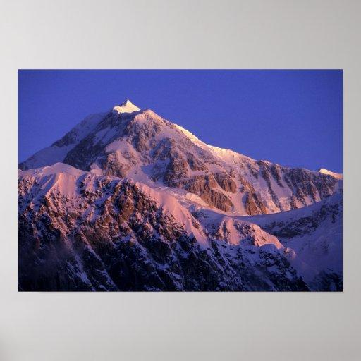 Summit of Denali Peak Mt. McKinley) at Posters