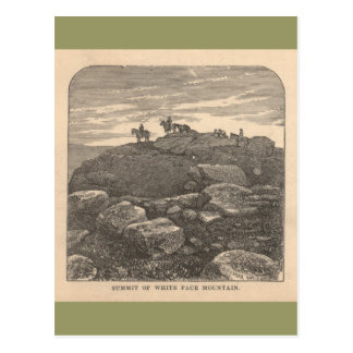 Summit of White Face Mountain Postcard