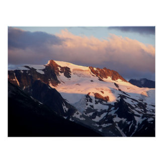 Summit Sunset Poster Print