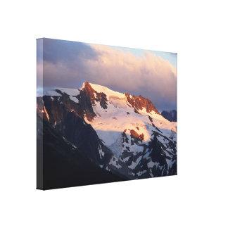 Summit Sunset Stretch Canvas Print