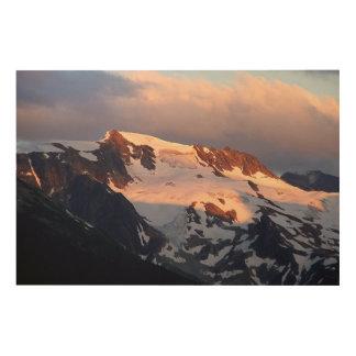Summit Sunset Wood Panel