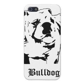 Sumo Bulldog Stencil Case For The iPhone 5
