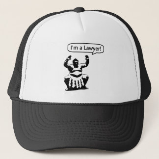 Sumo Lawyer Trucker Hat
