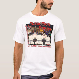 Sumo Poker Front Only T-Shirt