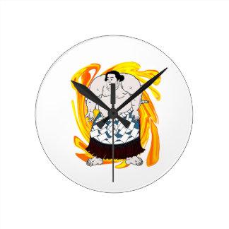 Sumo Sweeper Clock