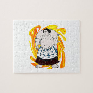 Sumo Sweeper Jigsaw Puzzle