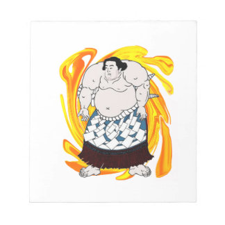Sumo Sweeper Notepad