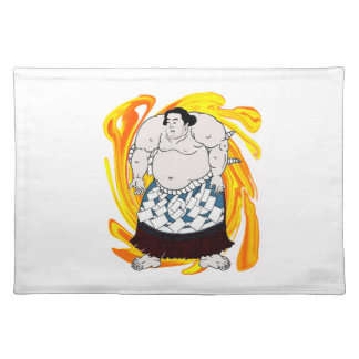 Sumo Sweeper Placemat