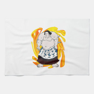 Sumo Sweeper Tea Towel