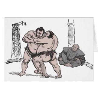 Sumo Wrestlers Card