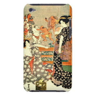 Sumo Wrestling - Full Moon Diptych 1818 Right Barely There iPod Covers