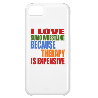 Sumo Wrestling Is My Therapy iPhone 5C Case