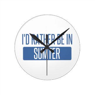 Sumter Round Clock