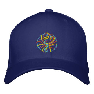 sun 2k10 Dragon Embroidered Hat