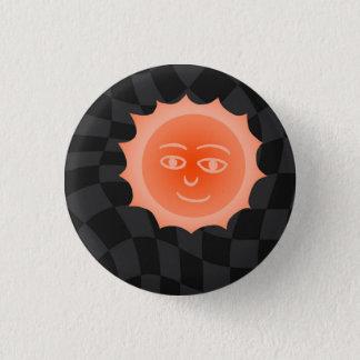 Sun 3 Cm Round Badge