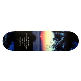 Sun Always Rises Skate Deck