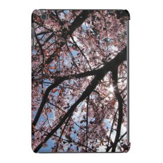 Sun and Cherry Blossoms iPad Mini Retina Cover