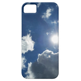 sun and clouds case for the iPhone 5