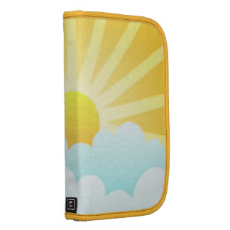 Sun and Clouds Smartphone Folio Planners