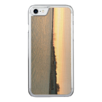 Sun and Lake Carved iPhone 8/7 Case