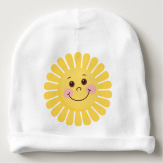 Sun and Moon Baby Beanie