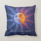Sun and Moon Eclipse Perfect Alignment Cushion
