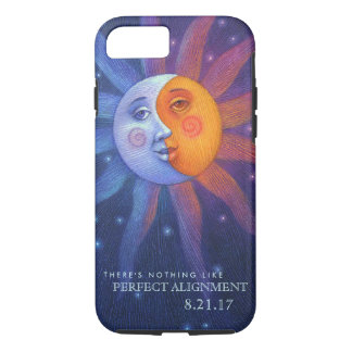 Sun and Moon Eclipse Perfect Alignment iPhone 8/7 Case