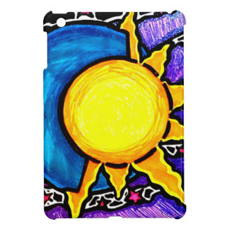 Sun and moon iPad mini case