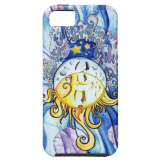 Sun and Moon iPhone case