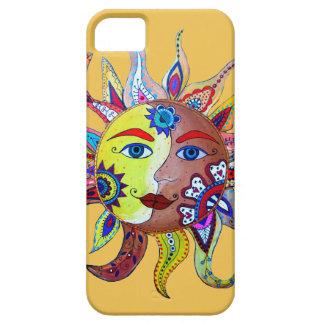 SUN AND MOON - LA LUNA EL SOL iPhone 5 CASE