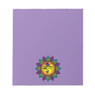 sun and moon notepads