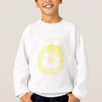 Sun and Moon Orbits Zetetic Astronomy Sweatshirt