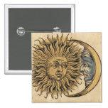 Sun and Moon Pin