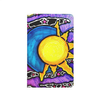 Sun and moon pocket journal