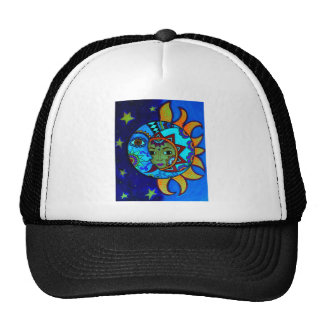 SUN AND MOON PRISARTS PAINTING CAP