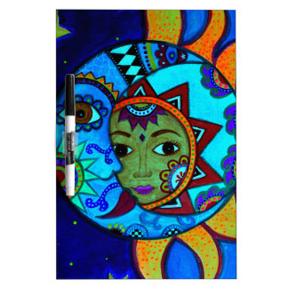 SUN AND MOON PRISARTS PAINTING DRY ERASE BOARD