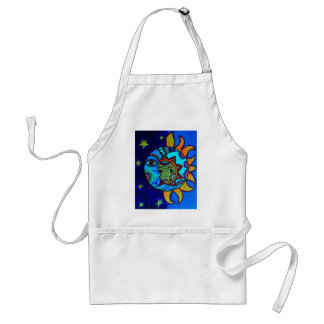 SUN AND MOON PRISARTS PAINTING STANDARD APRON
